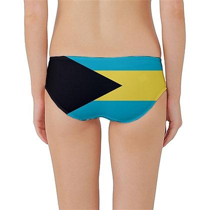 Bahamas Flag Classic Bikini Bottoms