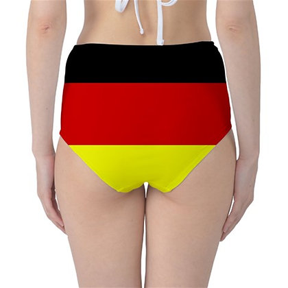 Germany High Waist Flag Bikini Bottoms