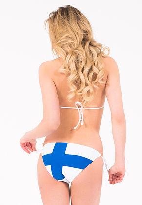 Finland Flag Bikini Bottoms