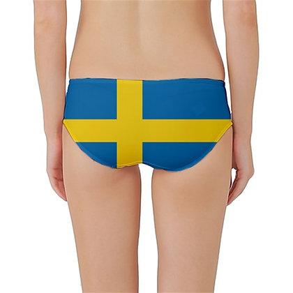 Sweden Flag Classic Bikini Bottoms