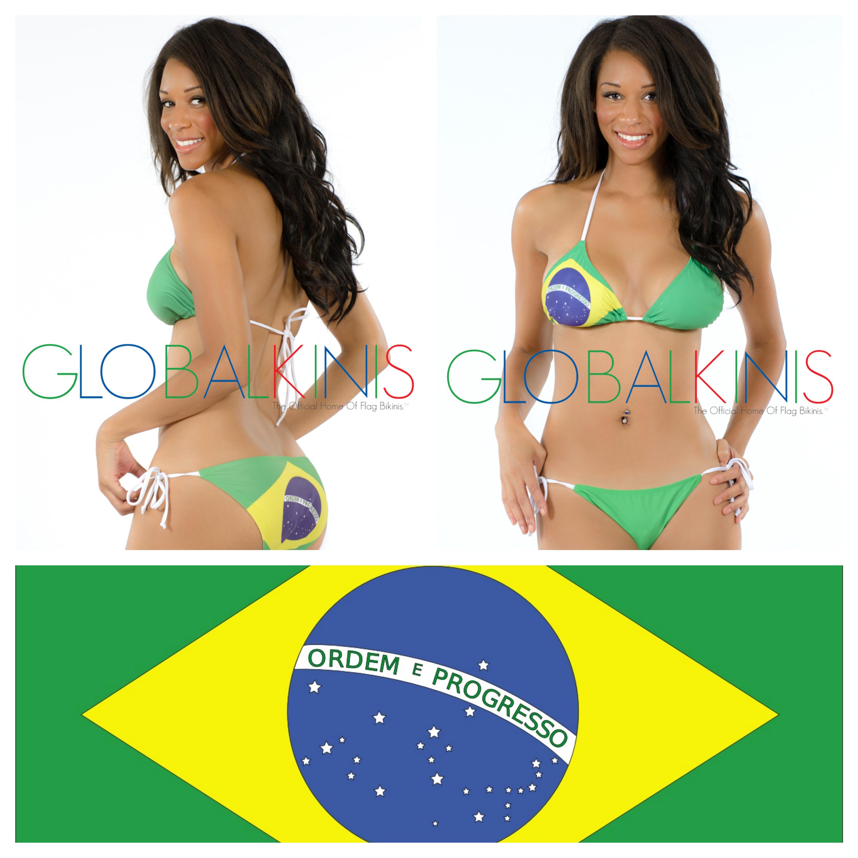 Brazil Flag Bikini