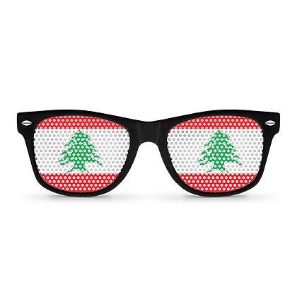 Lebanon Flag Sunglasses