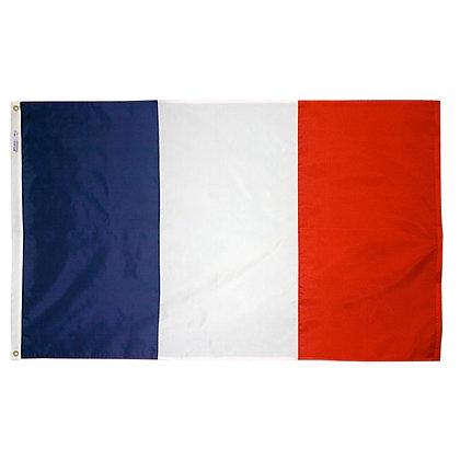 """France Flag """"3x5"""""""