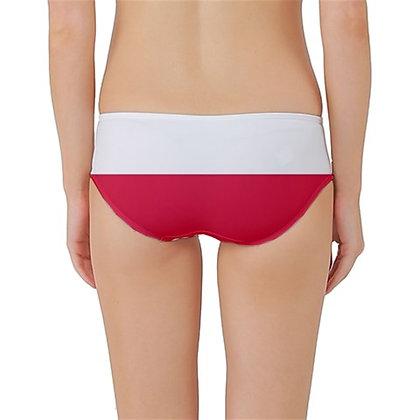 Poland Flag Classic Bikini Bottoms