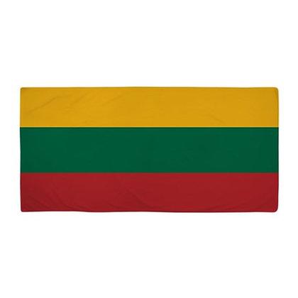 Lithuania Flag Beach Towel