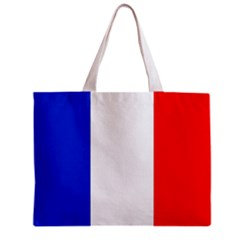 France Flag Tote Bag w/ Zipper.