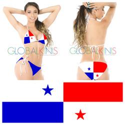Panama Flag Bikini