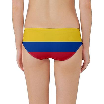 Colombia Flag Classic Bikini Bottoms