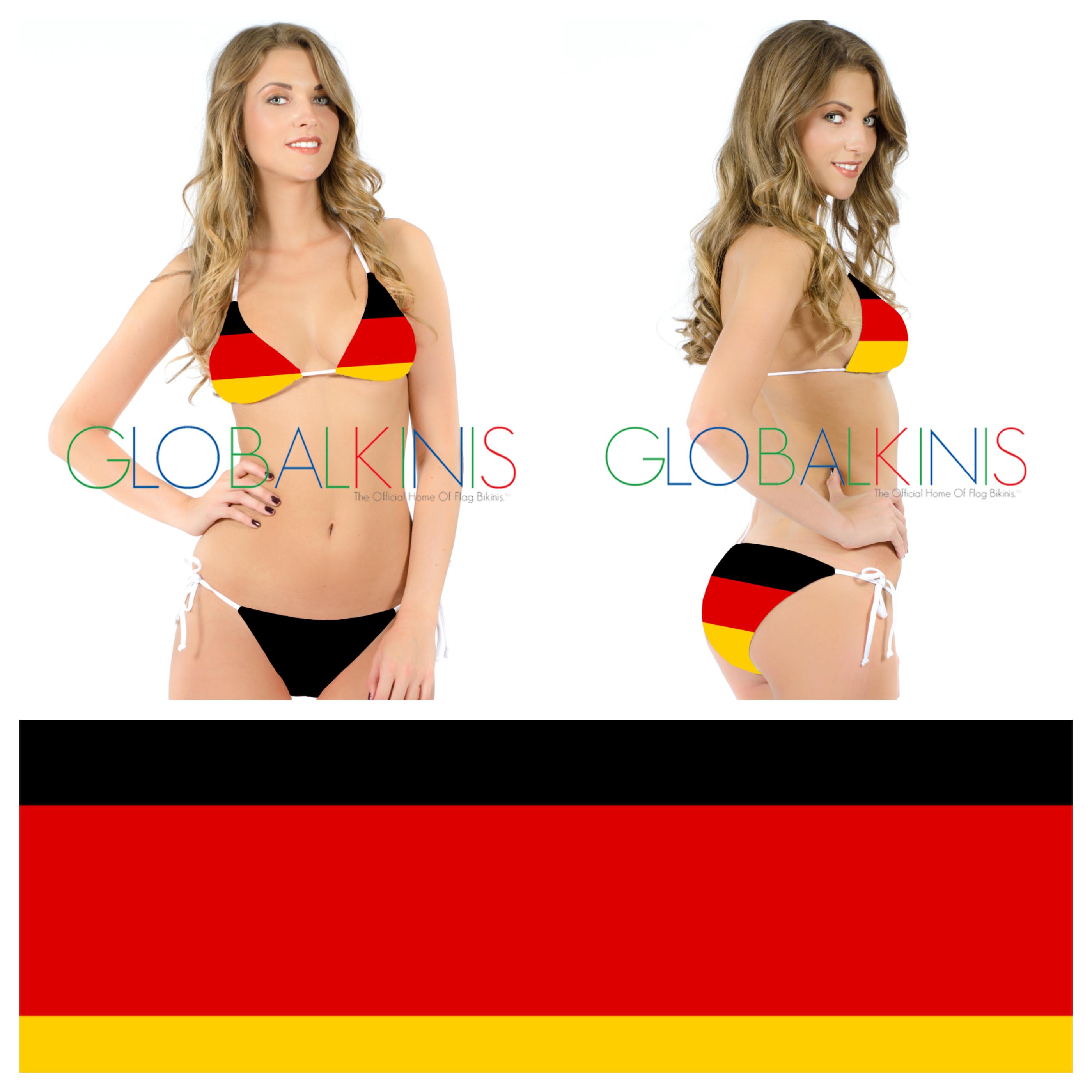 Germany Flag Bikini