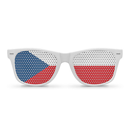 Czech Republic Flag Sunglasses