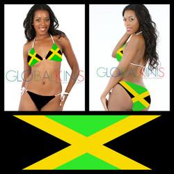Jamaica Flag Bikini