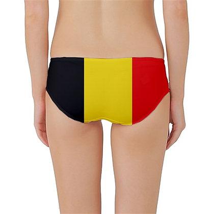 Belgium Flag Classic Bikini Bottoms