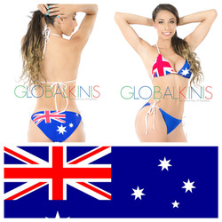 Australia Flag Bikini