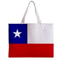 Chile Flag Tote Bag w/ Zipper.