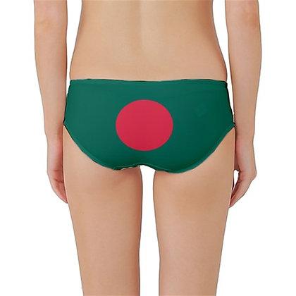 Bangladesh Flag Classic Bikini Bottoms