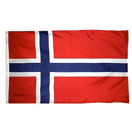 """Norway Flag """"3x5"""""""