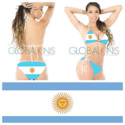 Argentina Flag Bikini