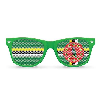 Dominica Flag Sunglasses