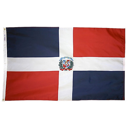 "Dominican Republic Flag ""3x5"""