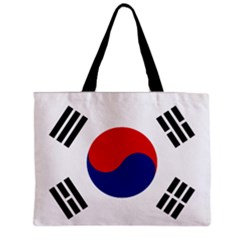 South Korea Flag Tote Bag w/ Zipper.