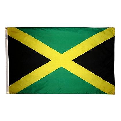 """Jamaica Flag """"3x5"""""""