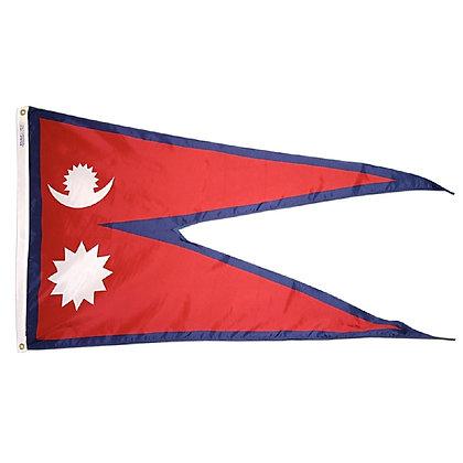 "Nepal Flag ""3x5"""