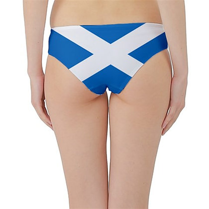 Scotland Flag Hipster Cheeky Bikini Bottoms