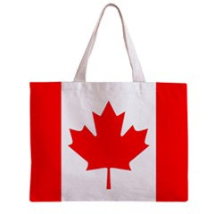 Canada Flag Tote Bag w/ Zipper.