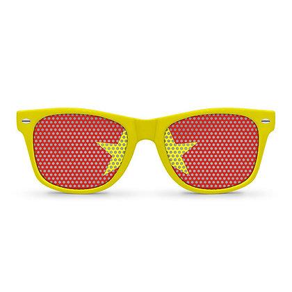 Vietnam Flag Sunglasses