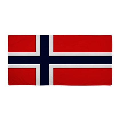 Norway Flag Beach Towel