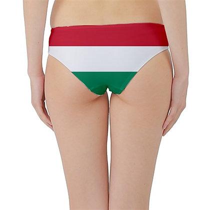 Hungary Flag Hipster Cheeky Bikini Bottoms