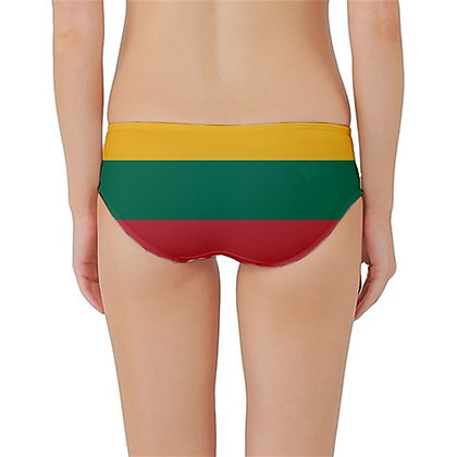 Lithuania Flag Classic Bikini Bottoms