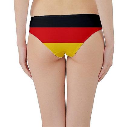 Germany Flag Hipster Cheeky Bikini Bottoms