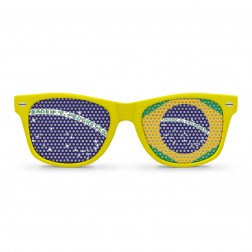 Brazil Flag Sunglasses