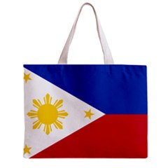 Phillipines Flag Tote Bag w/ Zipper.