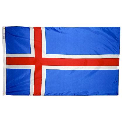 "Iceland Flag ""3x5"""