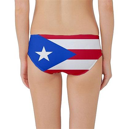 Puerto Rico Flag Classic Bikini Bottoms