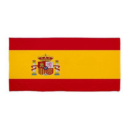 Spain Beach Flag Towel