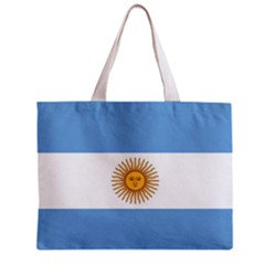 Argentina Flag Tote Bag w/ Zipper.