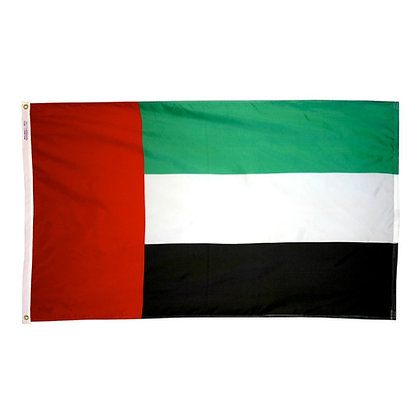"United Arab Emirates Flag ""3x5"""