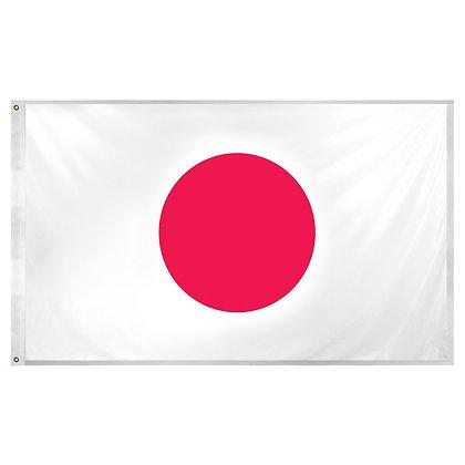 """Japan Flag """"3x5"""""""