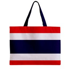 Thailand Flag Tote Bag w/ Zipper.