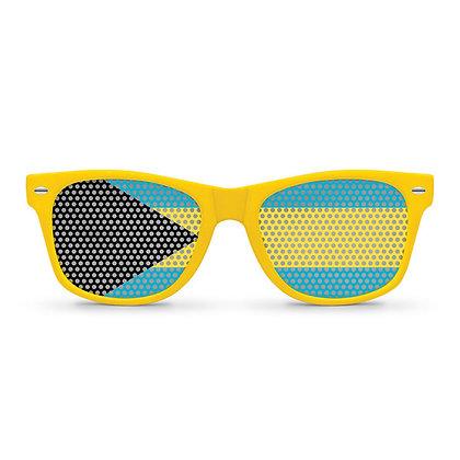 Bahamas Flag Sunglasses
