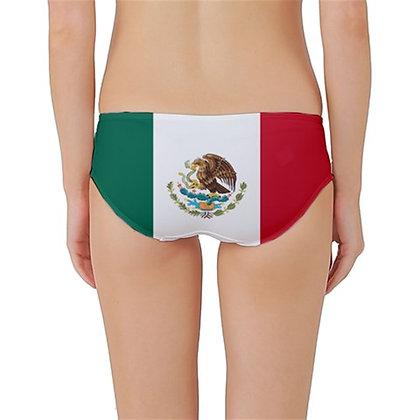 Mexico Flag Classic Bikini Bottoms
