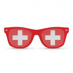 Switzerland Flag Sunglasses