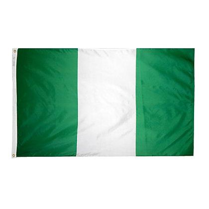 "Nigeria Flag ""3x5"""
