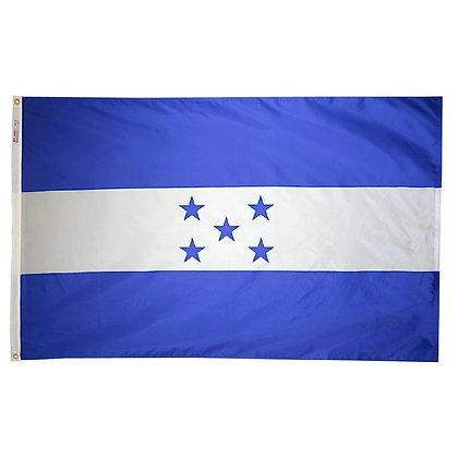 """Honduras Flag """"3x5"""""""