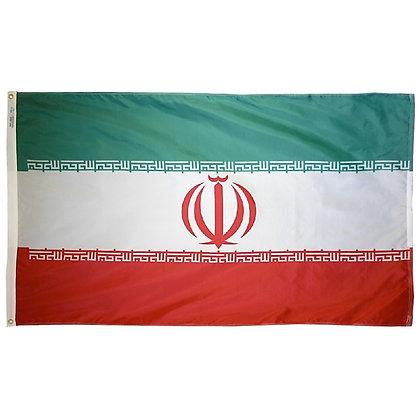 """Iran Flag """"3x5"""""""