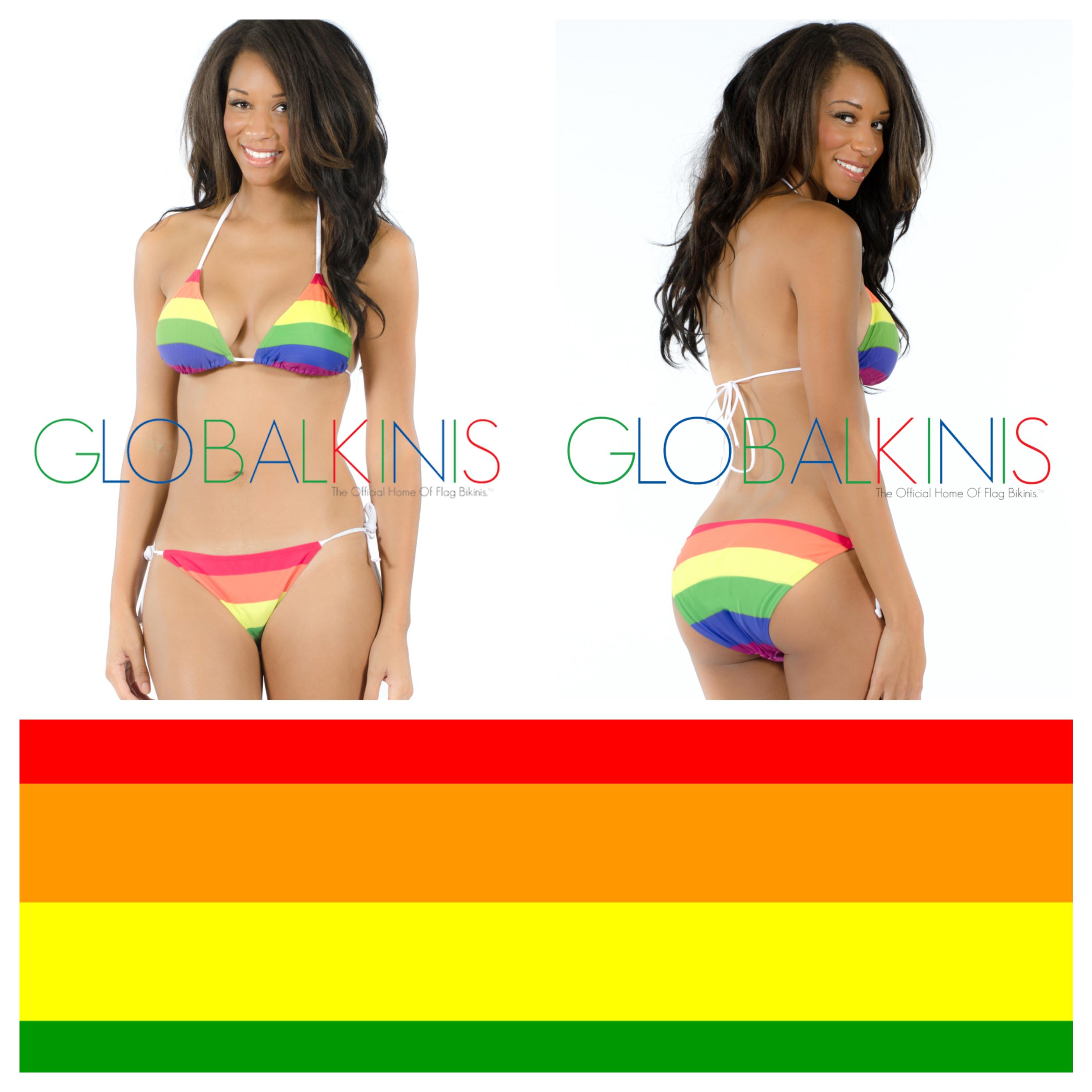 Rainbow Flag Bikini