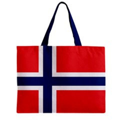 Norway Flag Tote Bag w/ Zipper.